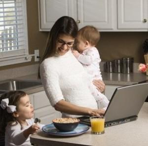 Работа и воспитание детей