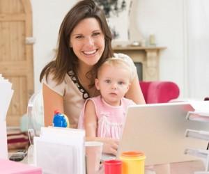 Совместить материнство и работу