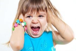 истерики у ребенка