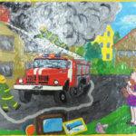 Пожарная безопасность. Инфографика. Правила спасения.