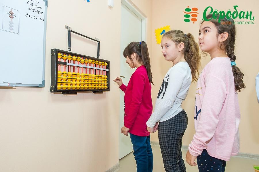Метод быстрого счета в уме в школе ментальной арифметики Соробан ®